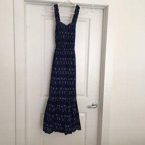 New J.Crew Factory Dress! IKAT print, size 6.
